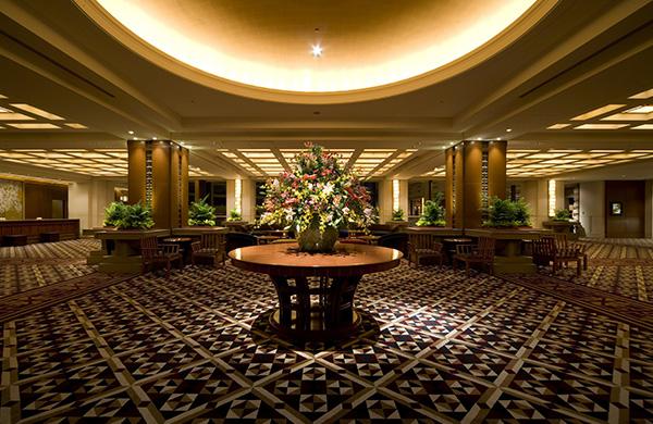帝国ホテルのロビー